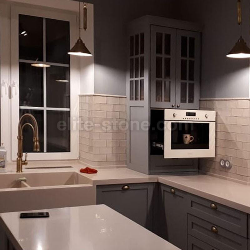 Столешница и остров для кухни из искусственного камня Staron - фото 7
