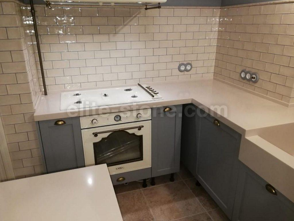 Столешница и остров для кухни из искусственного камня Staron - фото 5