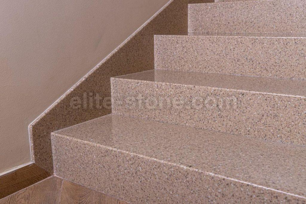 Лестница из искусственного камня п. Рассказовка - фото 10