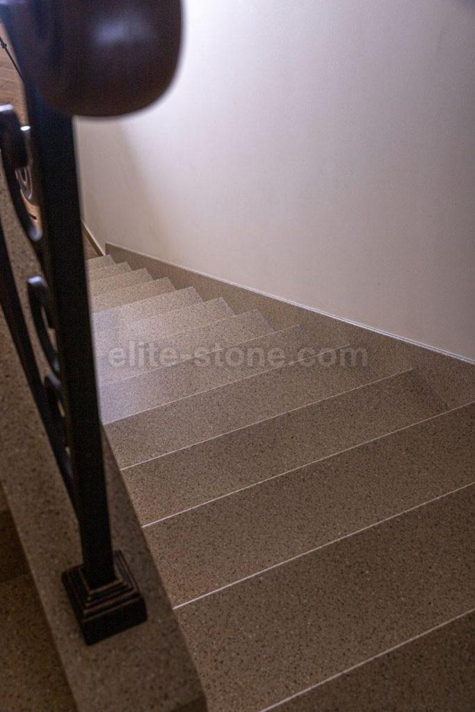 Лестница из искусственного камня п. Рассказовка - фото 9