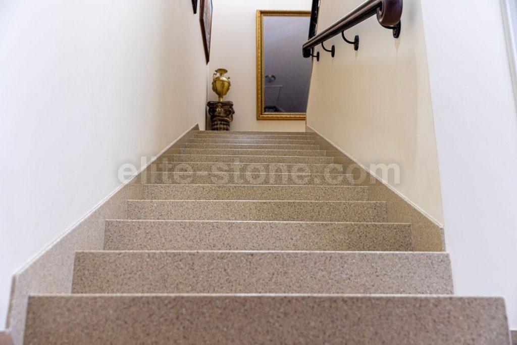Лестница из искусственного камня п. Рассказовка - фото 8