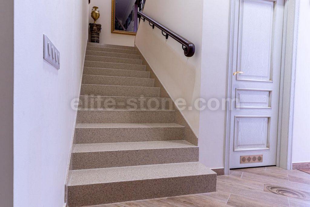 Лестница из искусственного камня п. Рассказовка - фото 7