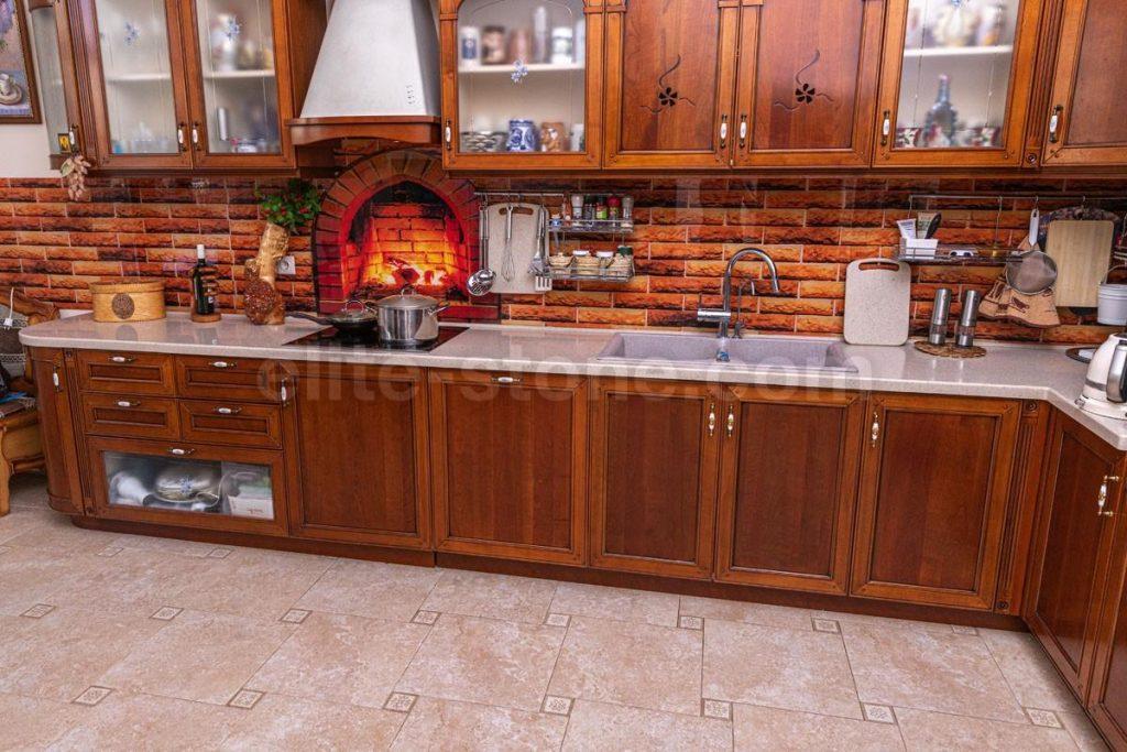 Столешница для кухни из акрилового камня Grandex - фото 1