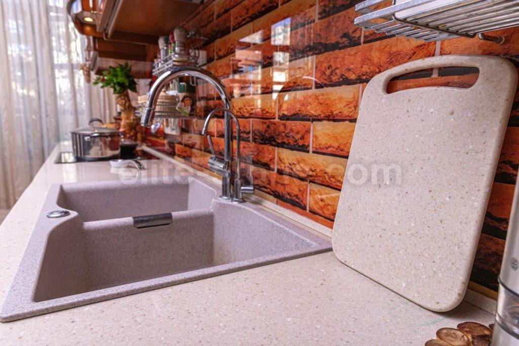 Столешница для кухни из акрилового камня Grandex - фото 3