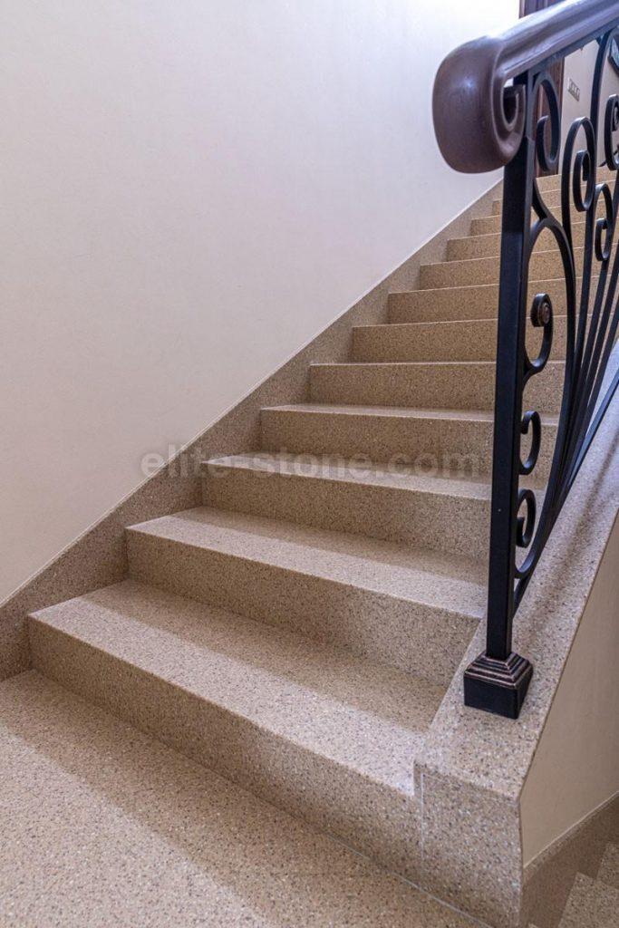 Лестница из искусственного камня п. Рассказовка - фото 5