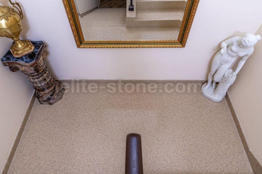 Лестница из искусственного камня п. Рассказовка - фото 2