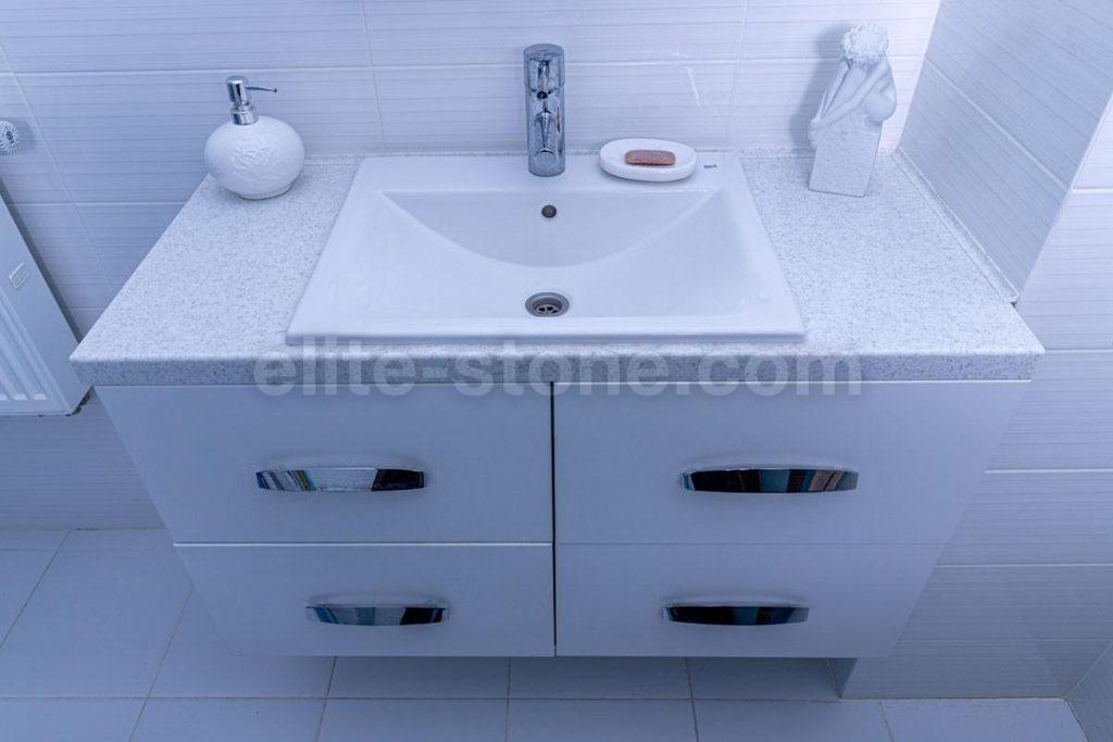 Столешница для ванной из искусственного камня Grandex - фото 1