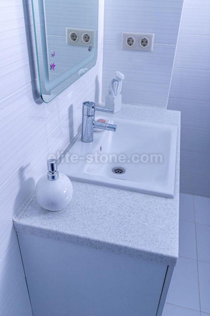 Столешница для ванной из искусственного камня Grandex - фото 3