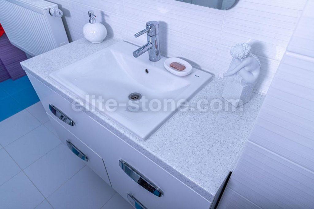 Столешница для ванной из искусственного камня Grandex - фото 2