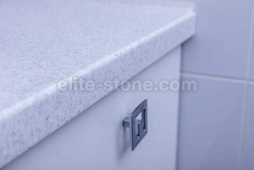 Столешница в ванную комнату из искусственного камня - фото 4