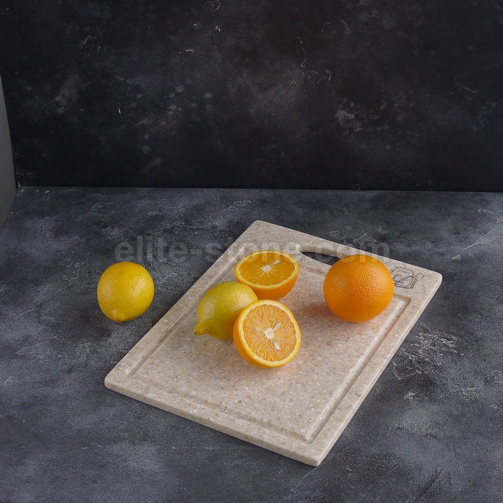 разделочная доска для кухни из искусственного камня
