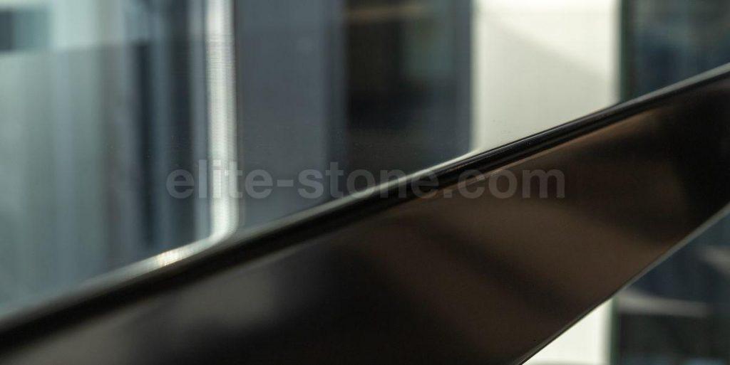 Барная стойка из искусственного камня Hi Macs S - 022 Black - фото 3