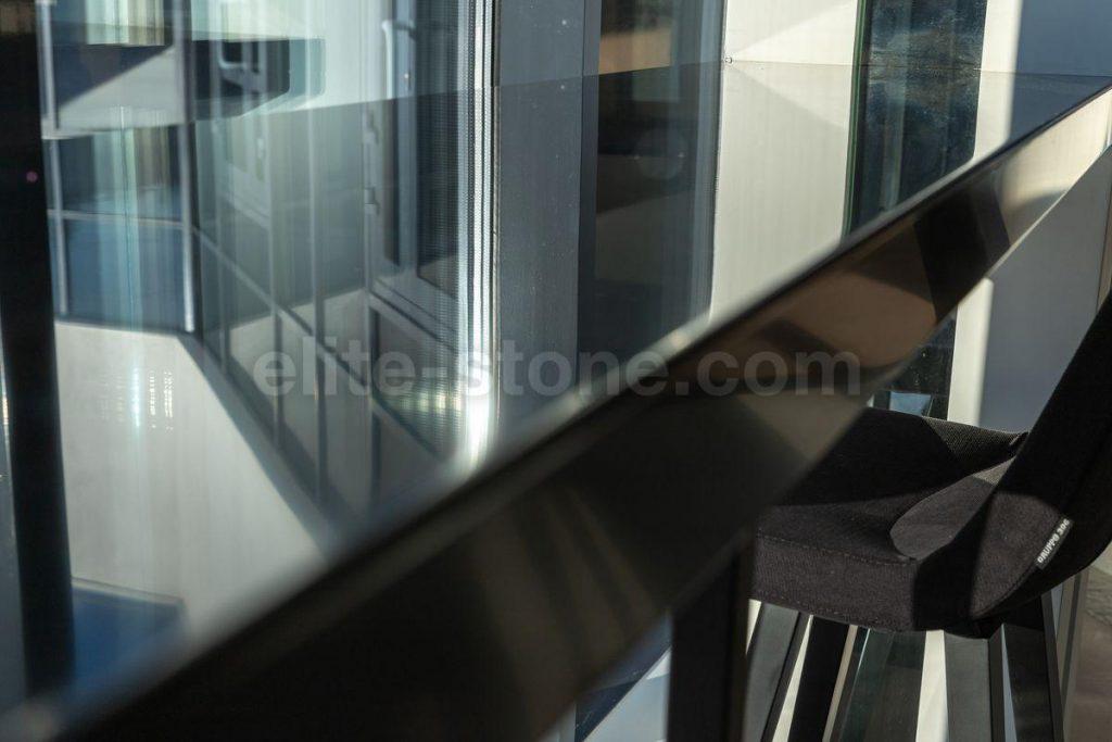 Барная стойка из искусственного камня Hi Macs S - 022 Black - фото 2