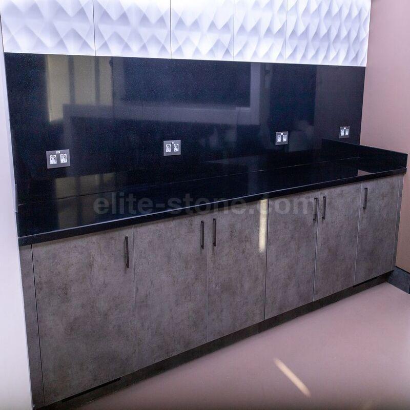 Столешница для кухни из искусственного камня Tristone S – 202 Night Pearl - фото 9