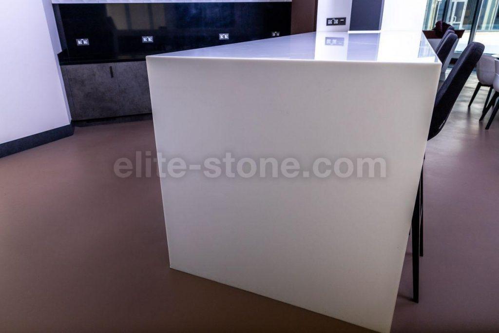 Стол из искусственного камня TriStone А – 104 Pure White - фото 5