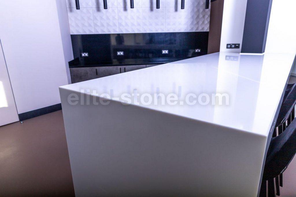 Стол из искусственного камня TriStone А – 104 Pure White - фото 6