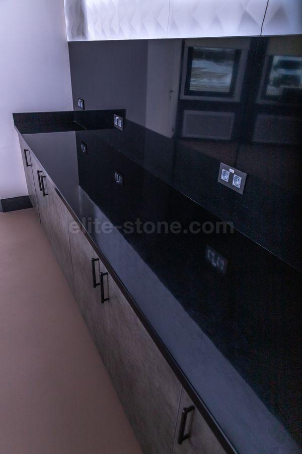 Столешница для кухни из искусственного камня Tristone S – 202 Night Pearl - фото 3