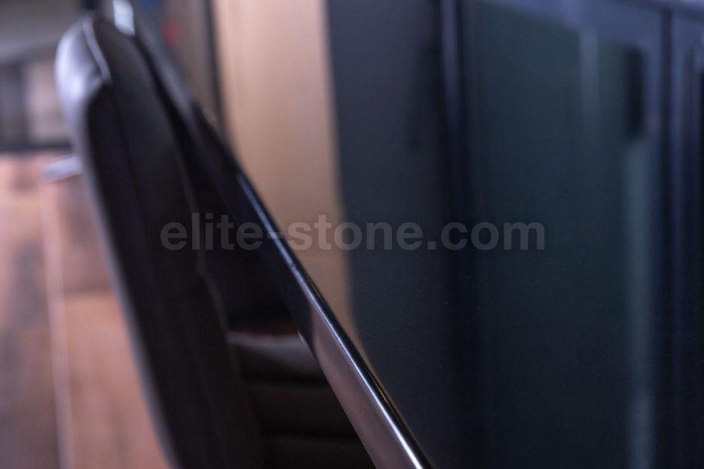 Стол-подоконник из искусственного камня Hi Macs S - 022 Black - фото 7