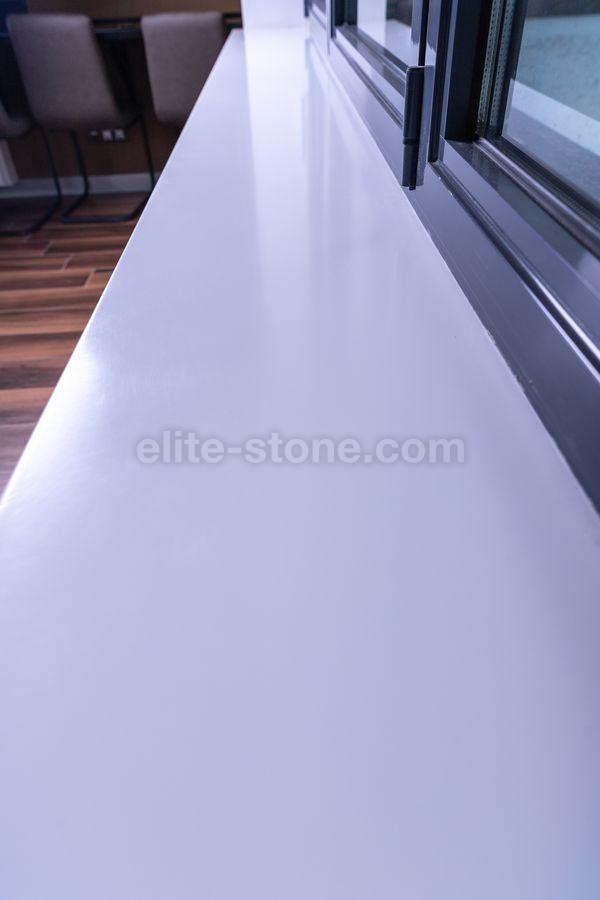 Подоконник из искусственного камня TriStone А – 104 Pure White - фото 7