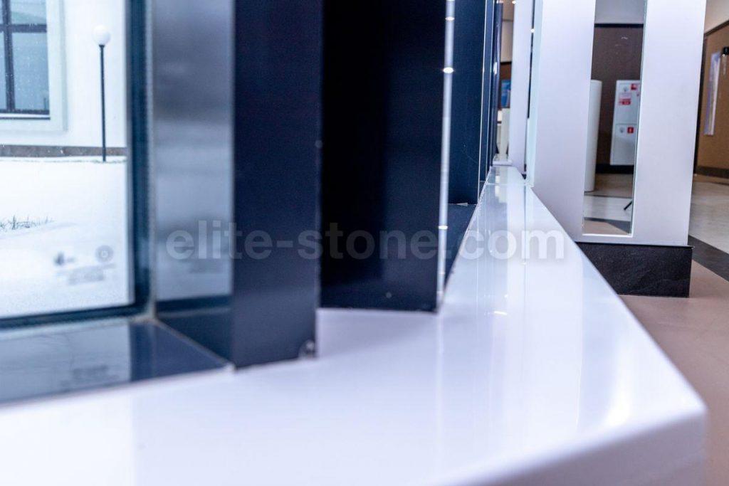 Эркерный подоконник из искусственного камня TriStone - фото 3