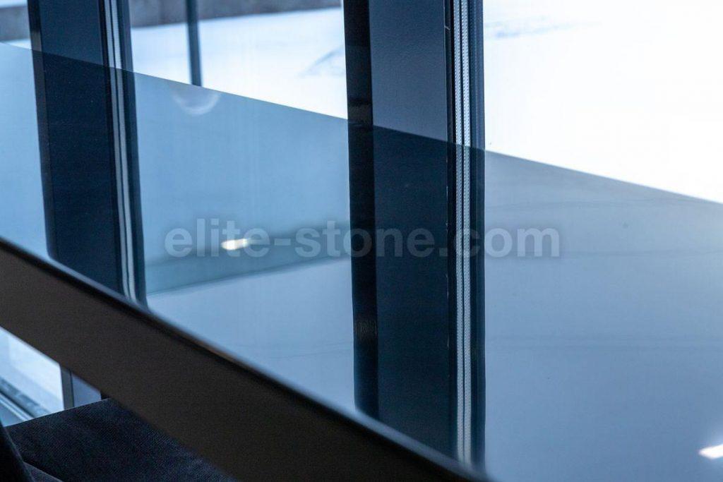 Барная стойка из искусственного камня Hi Macs S - 022 Black - фото 8