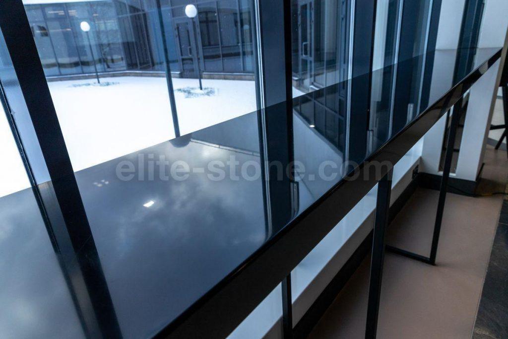 Барная стойка из искусственного камня Hi Macs S - 022 Black - фото 9
