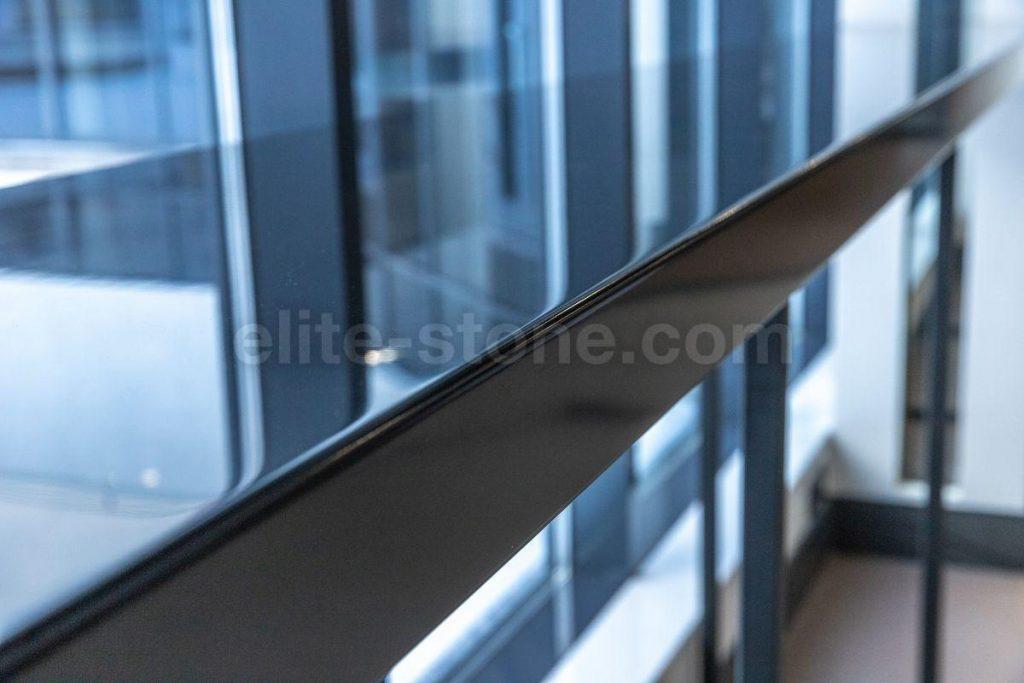 Барная стойка из искусственного камня Hi Macs S - 022 Black - фото 10