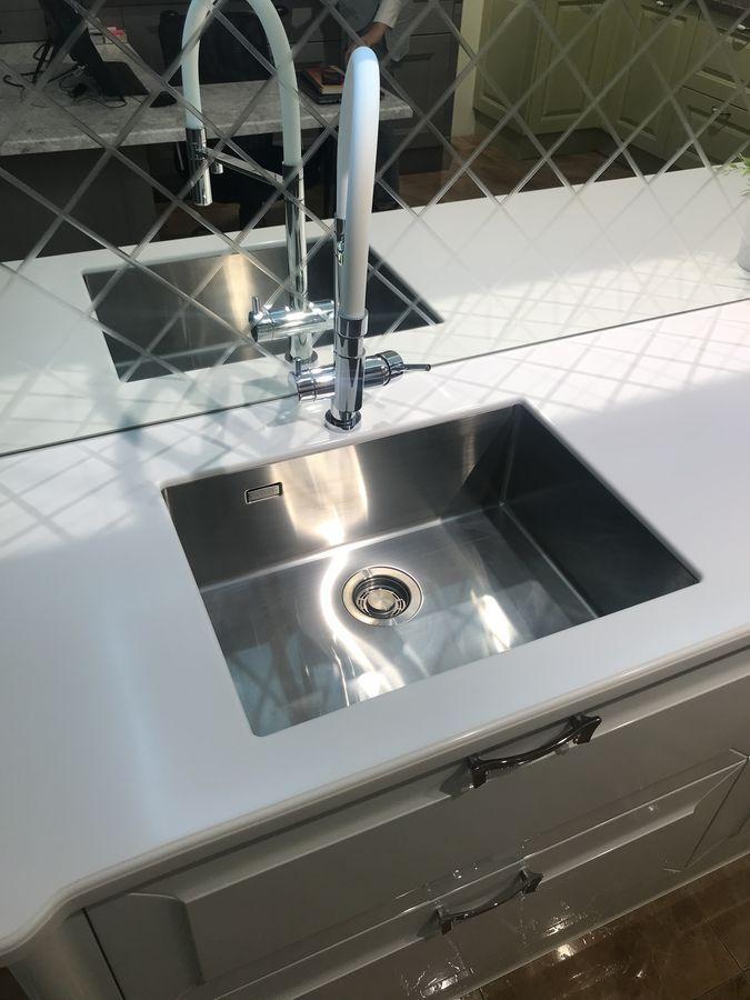 Столешница для кухни из искусственного камня Staron EY510 Metallic Yukon - фото 3