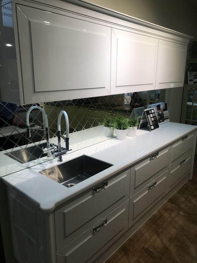 Столешница для кухни из искусственного камня Staron EY510 Metallic Yukon - фото 5