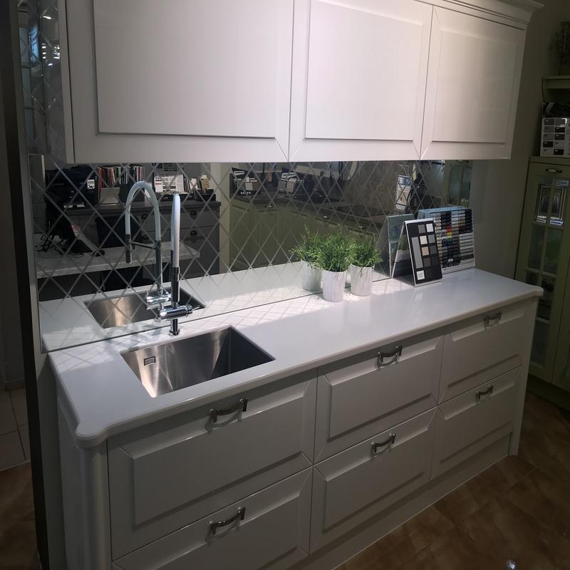 Столешница для кухни из искусственного камня Staron EY510 Metallic Yukon - фото 9
