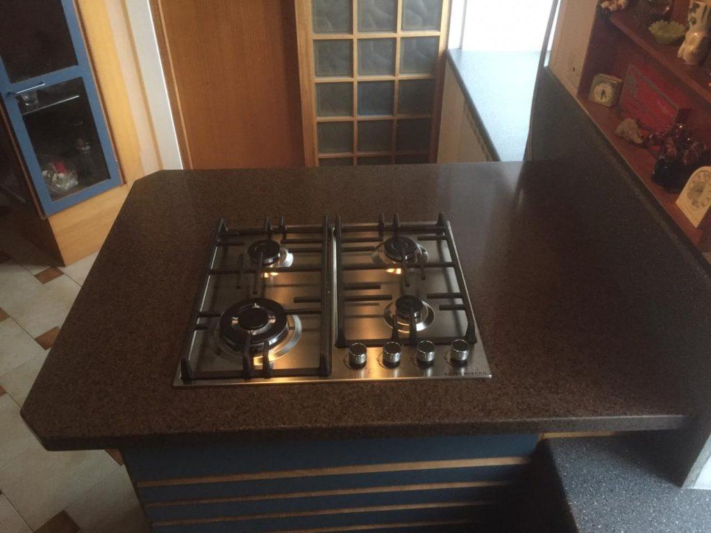 Столешница для кухни из искусственного камня GRANDEX A-418 Oak Wood - фото 2