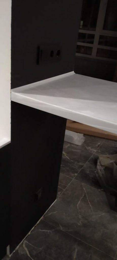 Подоконник-столешница, барная стойка и порог из искусственного камня Grandex - фото 8