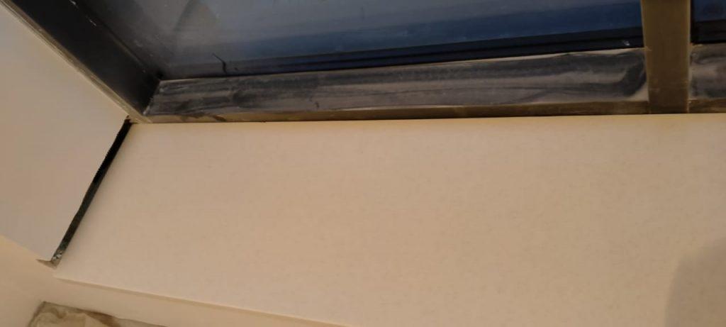 Бежевые подоконники из искусственного камня Staron SM421 Sanded Cream (2 шт.) - фото 6