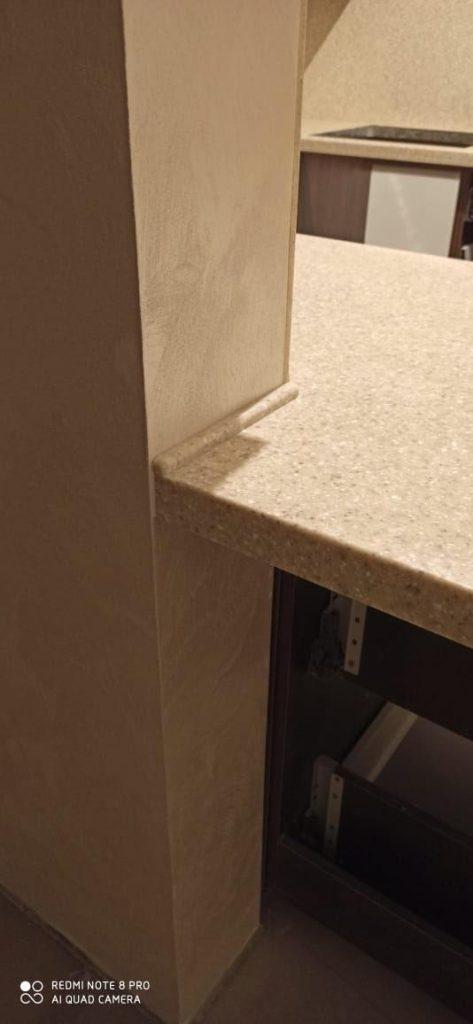 Столешница и стеновая панель из искусственного камня Grandex A-405 Peach Fruit - фото 5
