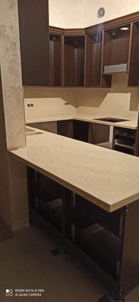 Столешница и стеновая панель из искусственного камня Grandex A-405 Peach Fruit - фото 6