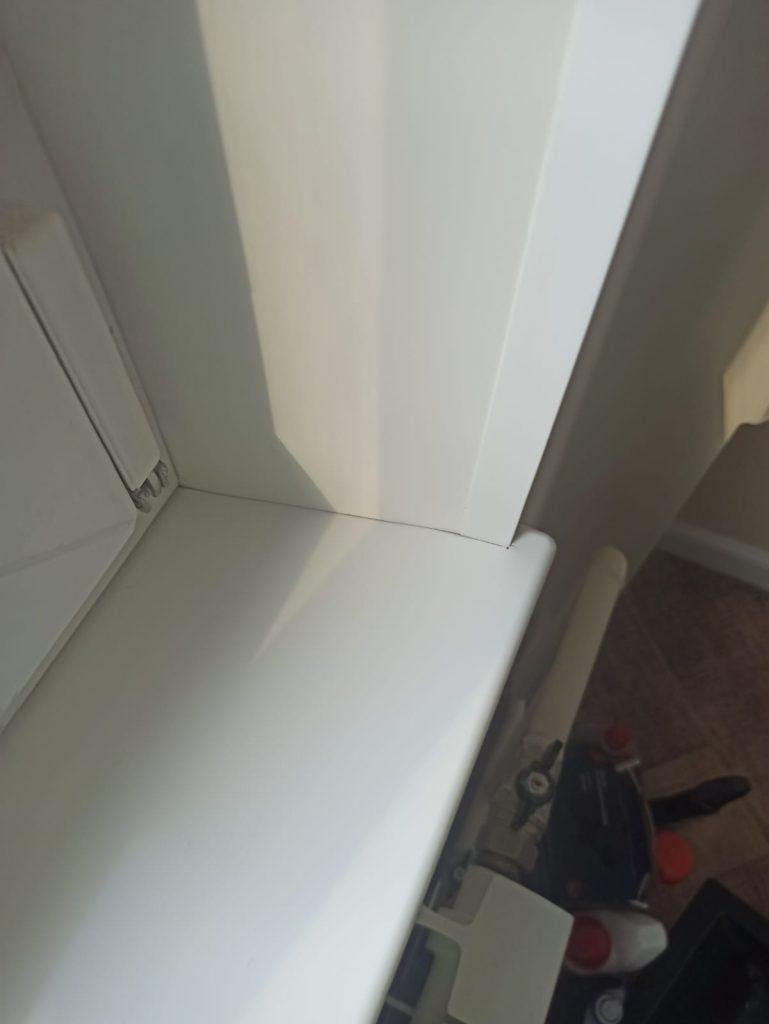 Угловая столешница для кухни и подоконник из акрила - фото 4