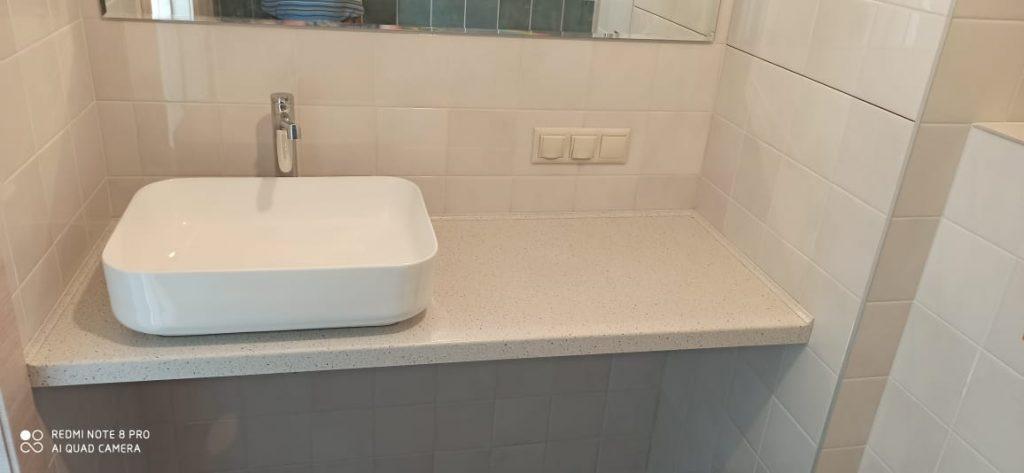 Столешница в ванную из искусственного камня TriStone TS-116 Latone - фото 1
