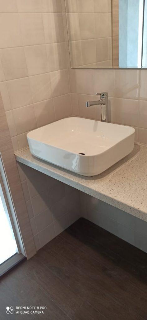 Столешница в ванную из искусственного камня TriStone TS-116 Latone - фото 2