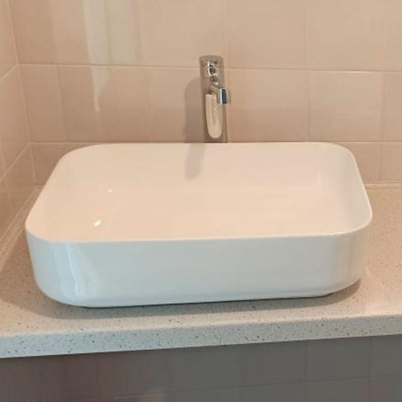 Столешница в ванную из искусственного камня TriStone TS-116 Latone - фото 9